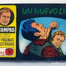 Tebeos: TRAMPAS / UN NUEVO LIO / NOVELA GRÁFICA OESTE FORMATO TV / 50 PÁGINAS ILUSTRADAS / PELLICER 1967. Lote 288039608