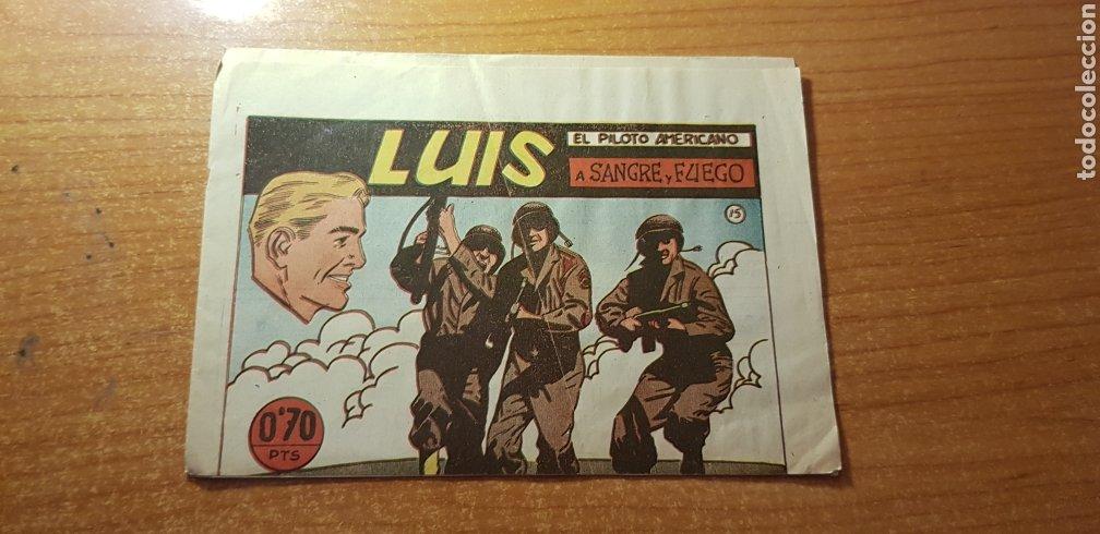 LUIS EL PILOTO AMERICANO Nº 15 EDITORIAL SIMBOLO ORIGINAL (Tebeos y Comics - Tebeos Otras Editoriales Clásicas)