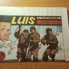 Tebeos: LUIS EL PILOTO AMERICANO Nº 15 EDITORIAL SIMBOLO ORIGINAL. Lote 288154388