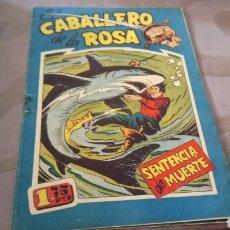 Tebeos: CABALLERO DE LA ROSA 4. Lote 288495718