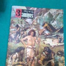 Tebeos: 3 AMIGOS Nº 100. HISTORIA DEL FUTBOL ESPAÑOL. HISTORIA Y LEYENDA DEL JUDO. DICK DARING, 1958. Lote 288504573