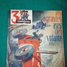 Tebeos: 3 AMIGOS Nº 1. LOS GRANDES ASES DEL VOLANTE. TOM Y TERRY, FUTBOL: CAMPANAL II , ZAMORA, 1956. Lote 288505793