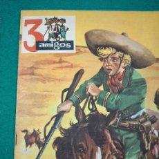Tebeos: 3 AMIGOS Nº 7. UN DEPORTE AMERICANO: EL BALONCESTO. TOM Y TERRY. EN TIERRA DE COYOTES, AÑO II. Lote 288509468