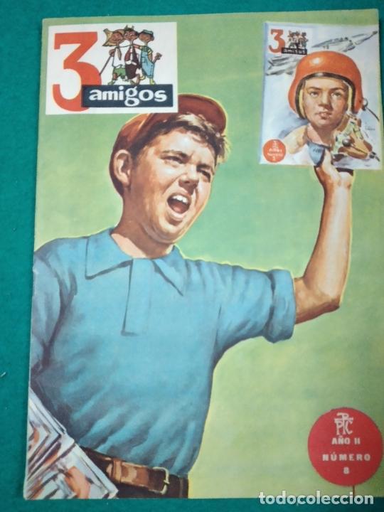 3 AMIGOS Nº 8, EL SECRETO DEL MERCEDES. BADEN-POWELL: KANTANKYE!. AÑO II (Tebeos y Comics - Tebeos Otras Editoriales Clásicas)
