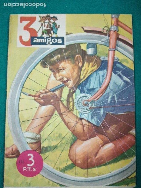 3 AMIGOS Nº 13. TINTIN EN EL SECRETO DEL UNICORNIO. LOS CABALLOS DEL REY RICARDO . 1957 (Tebeos y Comics - Tebeos Otras Editoriales Clásicas)