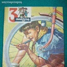 Tebeos: 3 AMIGOS Nº 13. TINTIN EN EL SECRETO DEL UNICORNIO. LOS CABALLOS DEL REY RICARDO . 1957. Lote 288513738