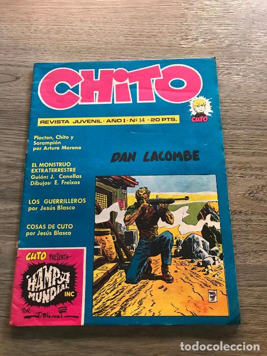 CHITO Nº 14 , EDIPRESS (Tebeos y Comics - Tebeos Otras Editoriales Clásicas)