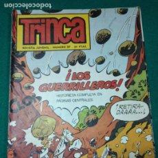 Tebeos: TRINCA NUMERO 27. LOS GUERRILLEROS HISTORIETA COMPLETA. DONCEL 1971.. Lote 288565888