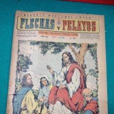 Tebeos: FLECHAS Y PELAYOS POR EL IMPERIO HACIA DIOS Nº 329. 1945. Lote 288680288