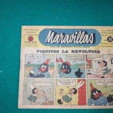 Tebeos: BIBLIOTECA DE FLECHAS Y PELAYOS. MARAVILLAS Nº 269. 2 NOVIEMBRE DE 1944. .. Lote 288684383