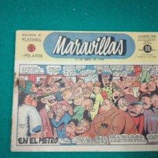 Tebeos: BIBLIOTECA DE FLECHAS Y PELAYOS. MARAVILLAS Nº 240. 13 DE ABRIL DE 1944. .. Lote 288684698