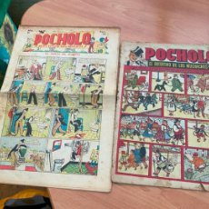 Tebeos: POCHOLO Nº 136 Y DE REGALO SI HUMANIDAD HUBIESE NACIDO CON RABO (ORIGINAL ) (COIB207). Lote 289287768