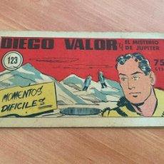 Tebeos: DIEGO VALOR Nº 123 EL MISTERIO DE JUPITER (ORIGINAL CID) (COIB207). Lote 289331408