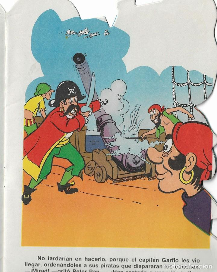 Tebeos: TEBEO- COLECCION TROQUELADO- PETER PAN - 1969 - Foto 2 - 289724083