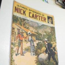 Giornalini: LOS ÚLTIMOS EPISODIOS DE NICK CARTER Nº 30 EL TESORO ROBADO ED.SOPENA (ESTADO NORMAL, LEER). Lote 290144343