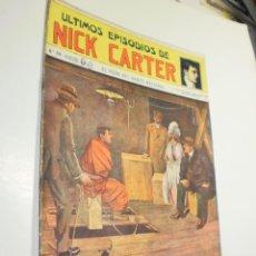 Giornalini: LOS ÚLTIMOS EPISODIOS DE NICK CARTER Nº 38 EL ROBO DEL BANCO NACIONAL SOPENA (ESTADO NORMAL, LEER). Lote 290144718