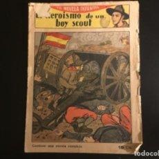 Giornalini: COMIC EDITORIAL EL GATO NEGRO EL HEROÍSMO DE UN BOY SCOUT AÑOS 20. Lote 290710163