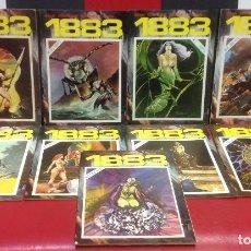 Livros de Banda Desenhada: COMIC 1883, COMPLETA, LOS 9 NUMEROS, IMPECABLE. Lote 291395843