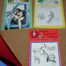 Tebeos: CIRCULO ANDALUZ DE TEBEOS Nº 2 - 9 - 11- BUEN ESTADO -LEER DESCRIPCION Y ENVIOS. Lote 293238258