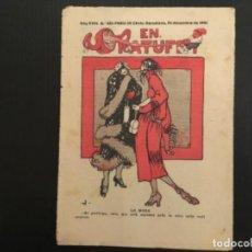 Tebeos: COMIC COLECCIÓN EN PATUFET ANY XVIII AÑO 1921 NÚMERO 925. Lote 293861863