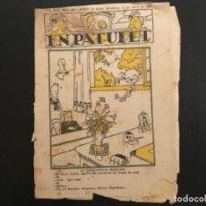 Tebeos: COMIC COLECCIÓN EN PATUFET ANY XIX AÑO 1922 NÚMERO 936. Lote 293862013