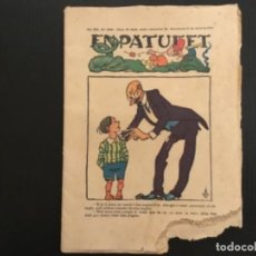 Tebeos: COMIC COLECCIÓN EN PATUFET ANY XXI AÑO 1924 NÚMERO 1058 PUBLICITAR LLET CONDENSADA EL PAGÉS. Lote 293863103