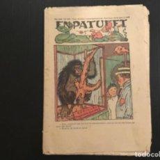Tebeos: COMIC COLECCIÓN EN PATUFET ANY XXII AÑO 1925 NÚMERO 1107 PUBLICITAT CODORNIU. Lote 293863388