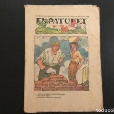 Tebeos: COMIC COLECCIÓN EN PATUFET ANY XXII AÑO 1925 NÚMERO 1116 PUBLICITAT CODORNIU. Lote 293863768