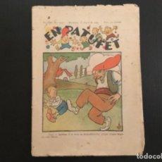Tebeos: COMIC COLECCIÓN EN PATUFET ANY XXV AÑO 1929 NÚMERO 1323 PUBLICITAT CODORNIU. Lote 293864393