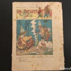 Tebeos: COMIC COLECCIÓN EN PATUFET ANY XXXI AÑO 1934 NÚMERO 1566 PUBLICITAT SUCRE DEL DOCTOR SASTRE MARQUE. Lote 293864943