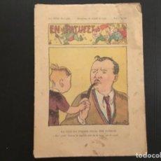 Tebeos: COMIC COLECCIÓN EN PATUFET ANY XXXI AÑO 1934 NÚMERO 1568 PUBLICITAT XAMPANY RIGOL. Lote 293865043