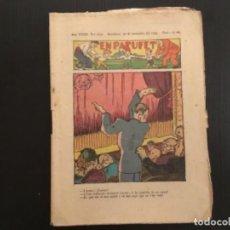 Tebeos: COMIC COLECCIÓN EN PATUFET ANY XXXII AÑO 1935 NÚMERO 1652 PUBLICITAT POMADA ASPAIME. Lote 293865223