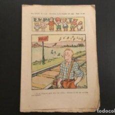 Tebeos: COMIC COLECCIÓN EN PATUFET ANY XXXIV AÑO 1937 NÚMERO 1756. Lote 293866318