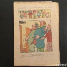Tebeos: COMIC COLECCIÓN EN PATUFET ANY XXXV AÑO 1938 NÚMERO 1761. Lote 293866918