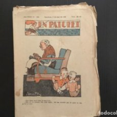 Tebeos: COMIC COLECCIÓN EN PATUFET ANY XXXV AÑO 1938 NÚMERO 1782. Lote 293904498