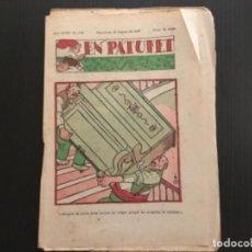 Tebeos: COMIC COLECCIÓN EN PATUFET ANY XXXV AÑO 1938 NÚMERO 1791. Lote 293905738