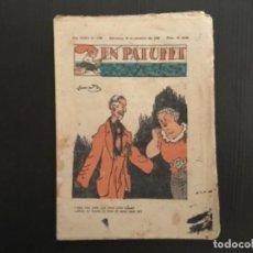 Tebeos: COMIC COLECCIÓN EN PATUFET ANY XXXV AÑO 1938 NÚMERO 1796. Lote 293905833
