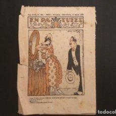 Tebeos: COMIC COLECCIÓN EN PATUFET ANY XXVII AÑO 1920 NÚMERO 854. Lote 294000398