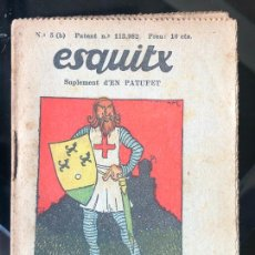 Tebeos: ESQUITX - SUPLEMENT D'EN PATUFET - Nº5 (B) MOROS I CRISTIANS. Lote 294823438