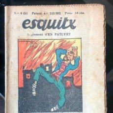 Tebeos: ESQUITX - SUPLEMENT D'EN PATUFET - Nº8 (B) CERCANT DINERS. Lote 294823658