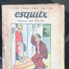 Tebeos: ESQUITX - SUPLEMENT D'EN PATUFET - Nº26 (B) EL MALTEMPS. Lote 294824613