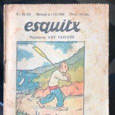 Tebeos: ESQUITX - SUPLEMENT D'EN PATUFET - Nº34 (B) EL MARINER. Lote 294824793