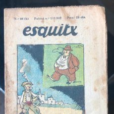 Tebeos: ESQUITX - SUPLEMENT D'EN PATUFET - Nº98 (B) EL RESSUSCITAT. Lote 294826608