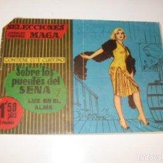 Giornalini: SELECCIONES JUVENILES FEMENINAS 10.EDICIONES MAGA,AÑO 1960.. Lote 295000748
