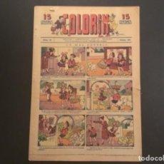 Tebeos: COMIC COLECCIÓN COLORIN AÑOS 20 AÑO II NÚMERO 65 RECORTABLE MATCH BOXEO. Lote 295499423