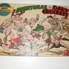 Livros de Banda Desenhada: AVENTURAS DE DAVY CROCKETT 1,EL PRIMERO,EDICIONES FERMA,AÑO 1958.ORIGINAL APAISADO.. Lote 295614253