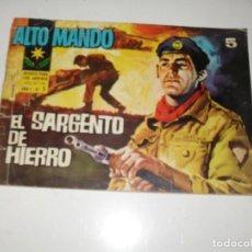Livros de Banda Desenhada: ALTO MANDO 5.IBERO MUNDIAL DE EDICIONES,AÑO 1964.. Lote 295704338