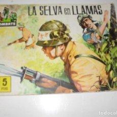 Livros de Banda Desenhada: AVENTURAS ILUSTRADAS SERIE COMBATE 3.EDICIONES FERMA,AÑO 1963.ORIGINAL APAISADO.. Lote 295779053