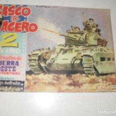 Livros de Banda Desenhada: CASCO DE ACERO 2 EN UNO 35 FERMA,AÑO 1961.ORIGINAL APAISADO.. Lote 295780783