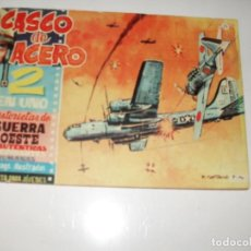 Livros de Banda Desenhada: CASCO DE ACERO 2 EN UNO 23. FERMA,AÑO 1961.ORIGINAL APAISADO.. Lote 295781003